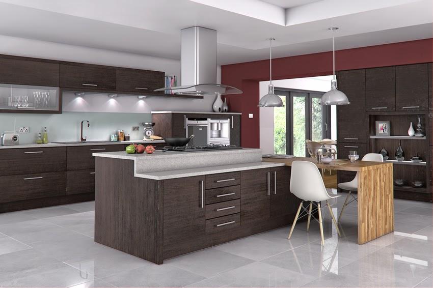 Meble Kuchenne Premium  aranżacja kuchni Kuchnia w   -> Kuchnia W Kolorze Amarantowym