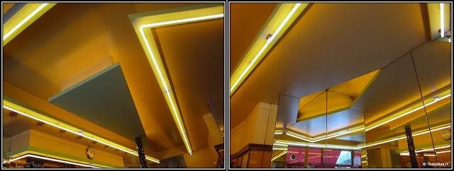 plafond boucherie années 80 resto aux Deux Amis 45 rue Oberkampf Paris 11