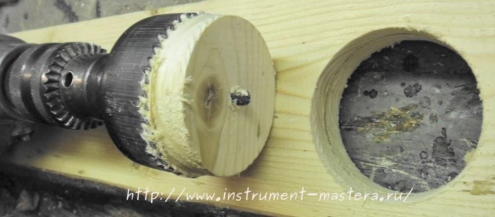 Коронки для сверления отверстий большого диаметра