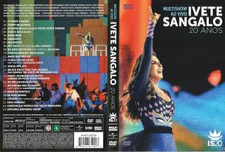 DVD Ivete Sangalo 20 Anos – Multishow Ao Vivo