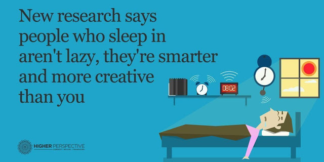 People Who Sleep In Aren't Lazy, They're Smarter And More Creative Than You