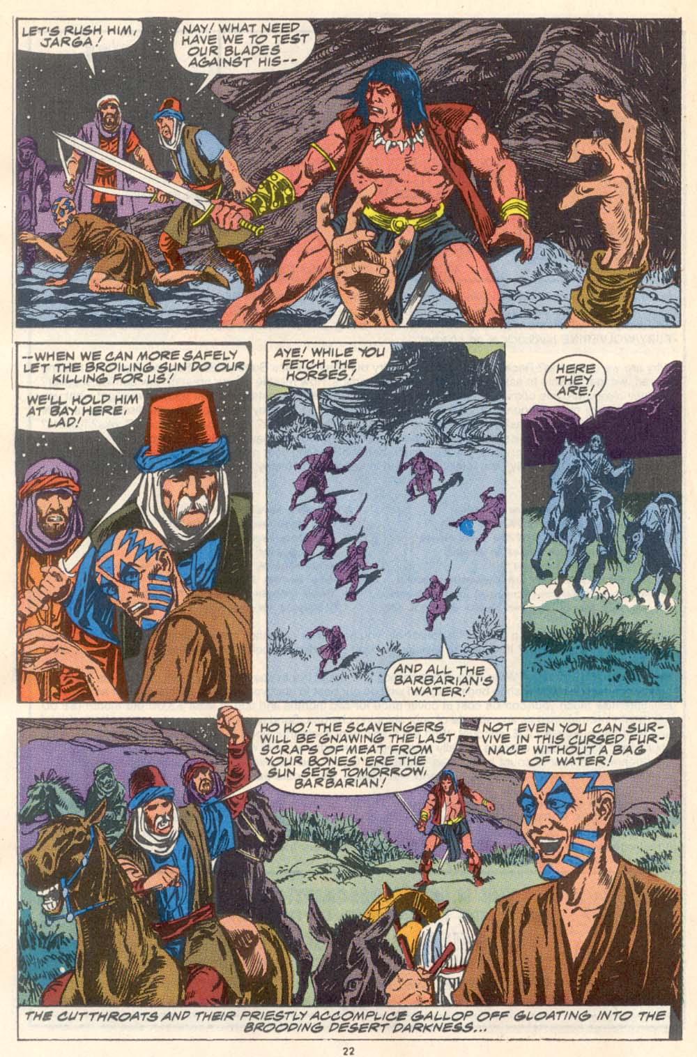 Conan the Barbarian (1970) Issue #223 #235 - English 18