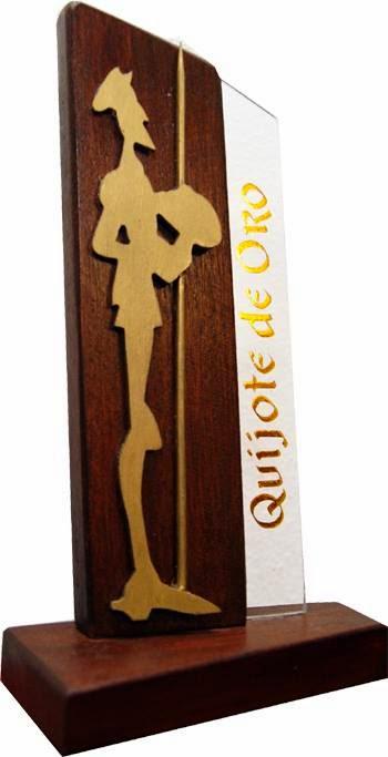 Premio Quijote de Oro 2014