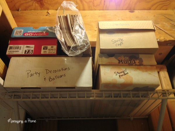 Reveal picture of Craft Storage Organization - Operation: Project Organize Month 1 Craft Space | Managing a Home