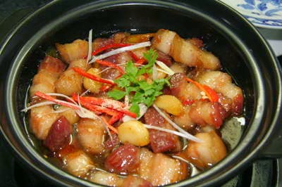 Caramelized Pork Belly with Suga - Ba Rọi Ram Đường