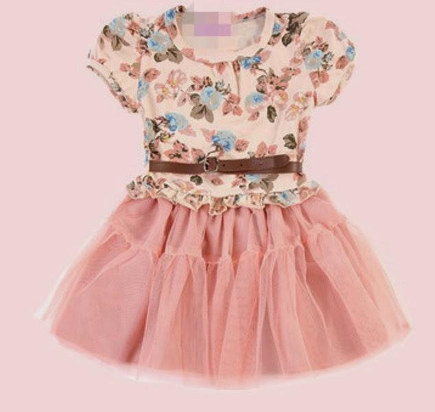 Baju anak perempuan model tutu dress terbaru