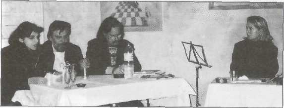 παρουσίαση Φ. Μότση, θέατρο ΑΝΑΛΟΓΙΟ