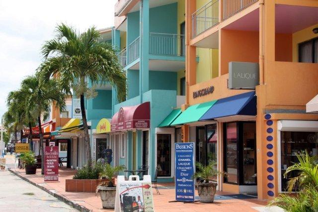 Zona comercial de St John's, Antigua