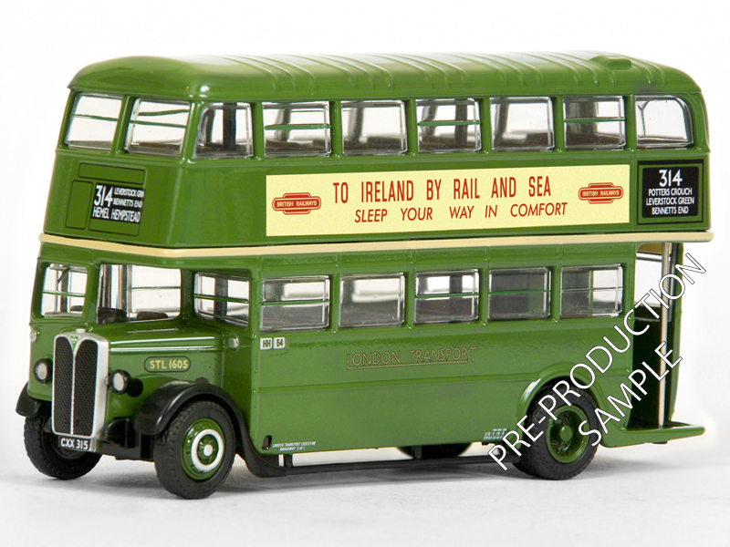 27704 - AEC STL Bus (No Roof Box) - London Transport Exclusive First Editions