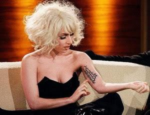 Lady Gaga tatuagens