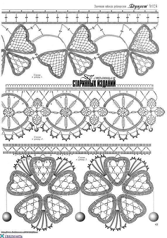 Croche Madona-mía puntos y graficos: Iris Crochet-Crochet irlandés ...