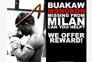 K1 und Muay Thai Champion Buakaw mit Mongkon