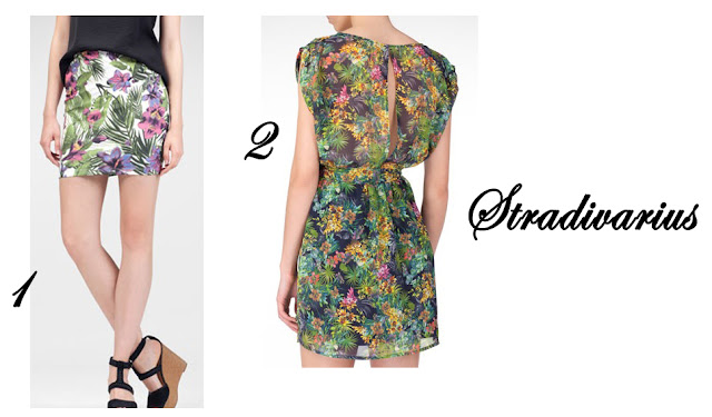 Estampado Tropical Stradivarius