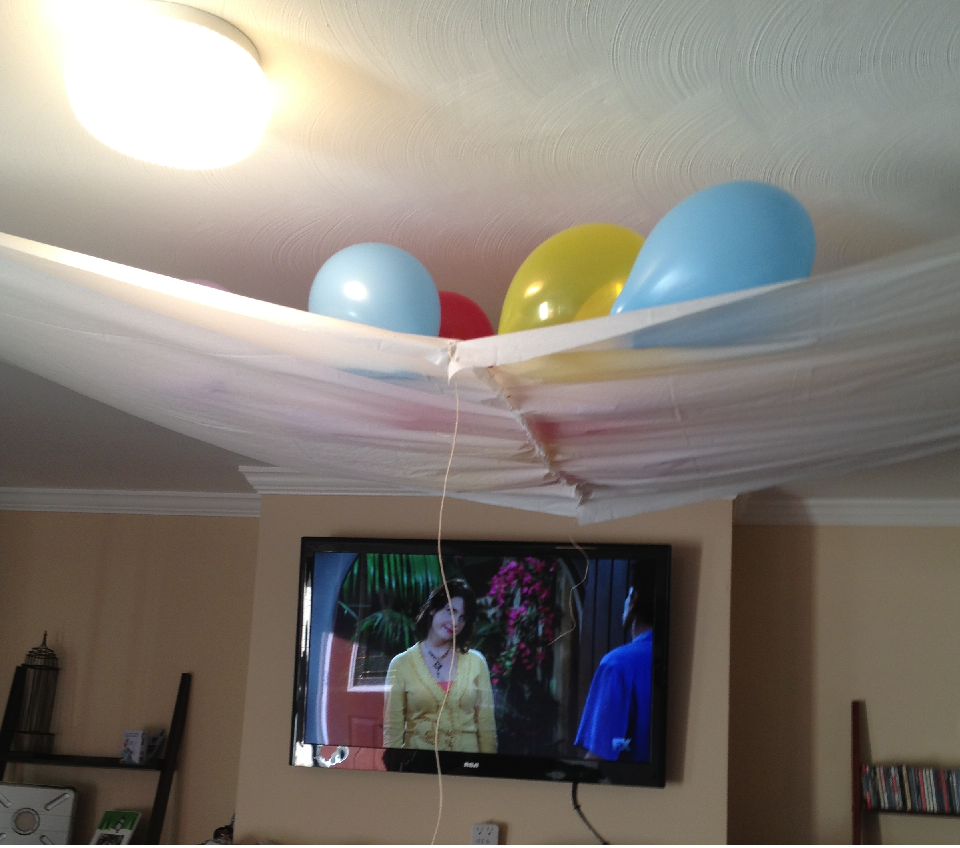 Diy New Years Balloon Drop: Things I Do When I'm Bored: Balloon Drop (UPDATE