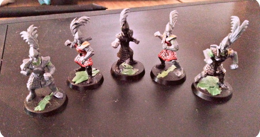 Lawhammer Converted High Elf Blood Bowl Team Almost