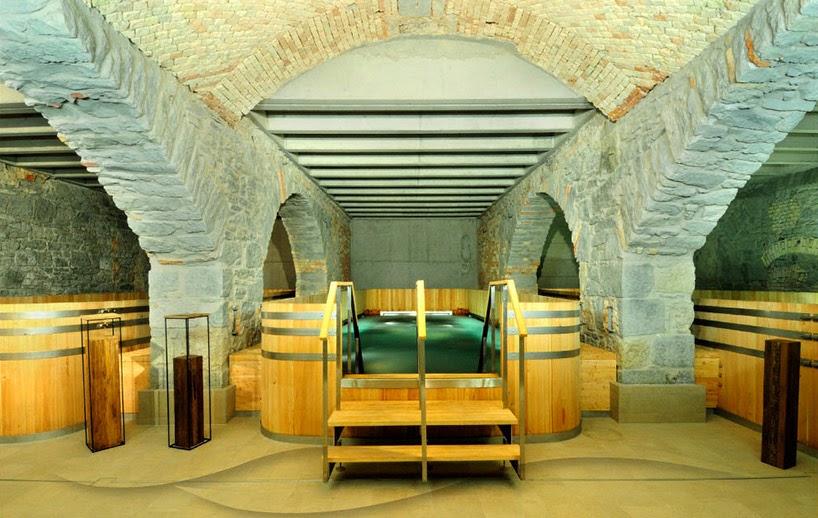 Una antigua fábrica de cerveza de Zürich convertida en spa|Espacios ...