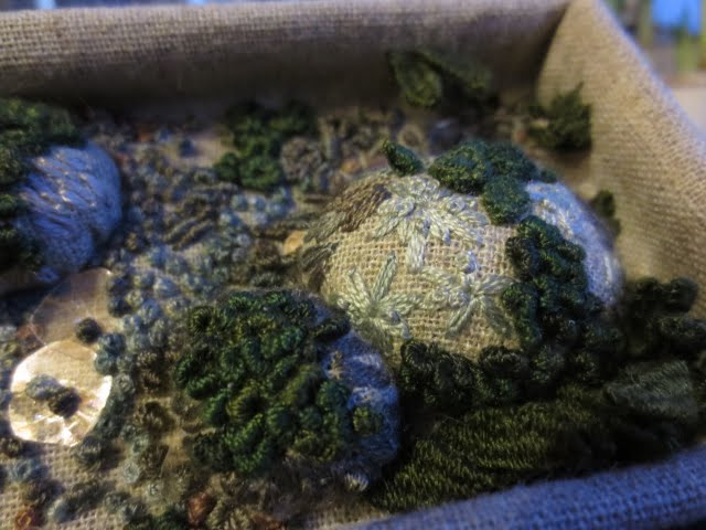 Stumpwork and Embroidery courses