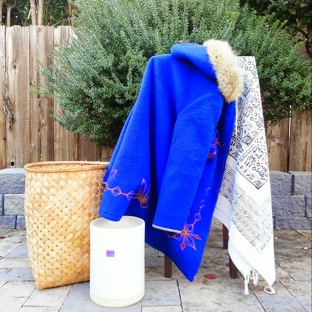 #thriftscorethursday Week 47 | Instagram user: the_decor_adobe shows off this Thrifting Haul Baskets Planter Scarf