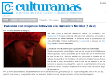 Entrevista en Culturama