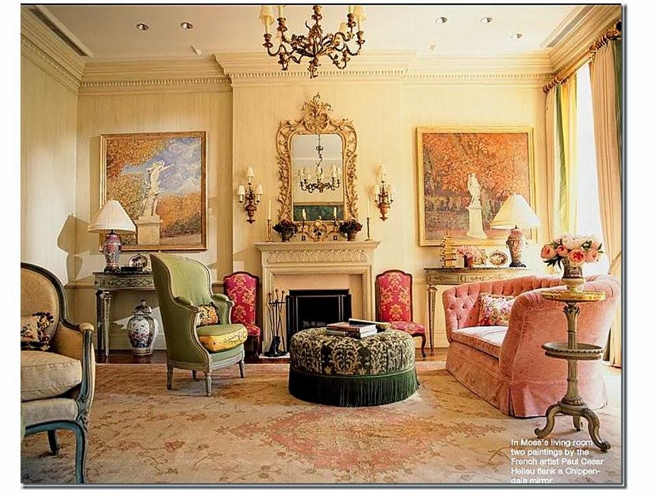 Charlotte Moss' living room