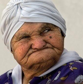 very very old women