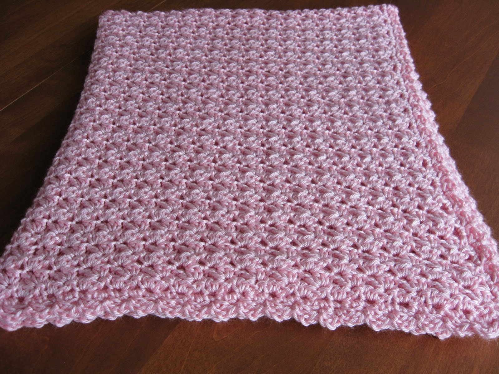 Crocheting A Baby Blanket For Beginners : ... crochet baby blanket, quick and easy crochet baby blanket patterns
