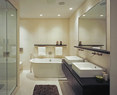 Modern Bathroom Decorating Design