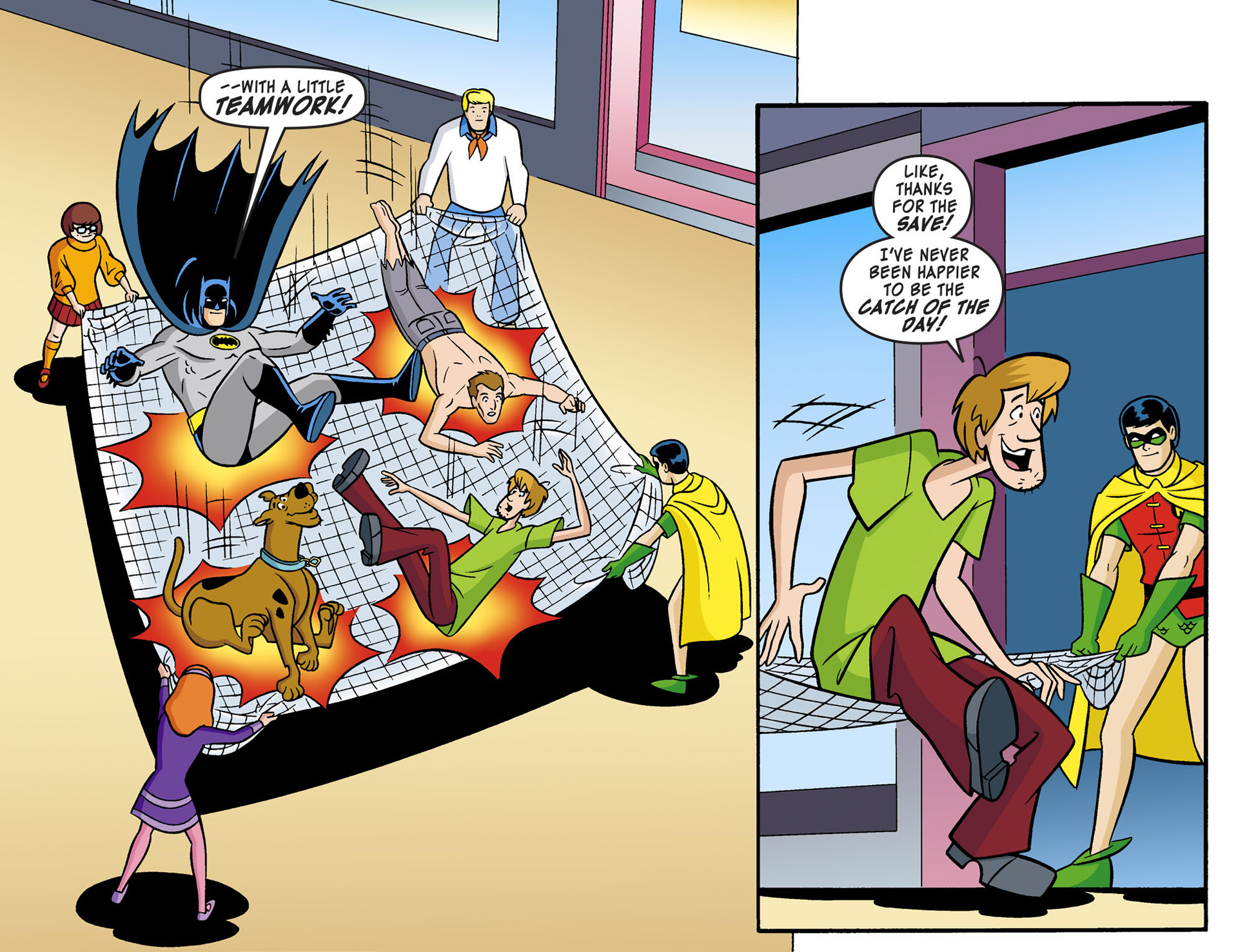 Read online Scooby-Doo! Team-Up comic -  Issue #2 - 19