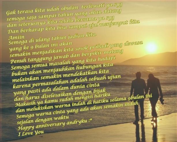 Kata2 Happy Anniversary 1 Bulan | Blog Stress