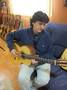 カニサレス特注のフラメンコギターがとうとう完成しました!