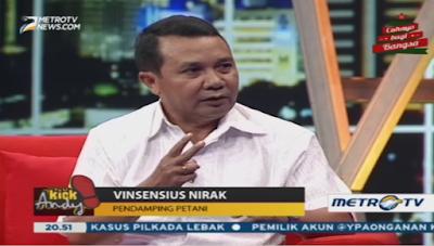 Vinsensius Nurak Kick Andy MetroTV