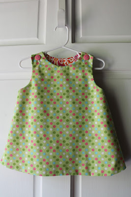 Making a toddler dress