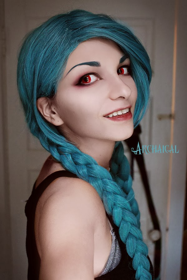 jinx cosplay, league of legends