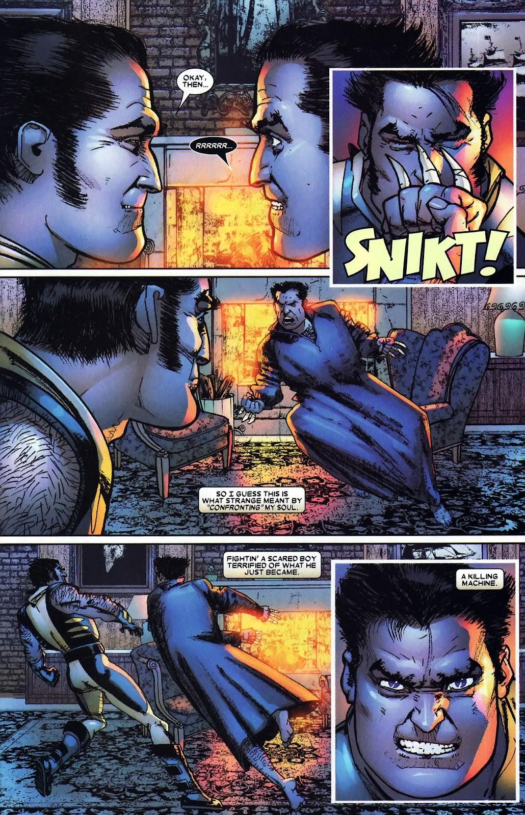 Read online Wolverine (2003) comic -  Issue #59 - 10