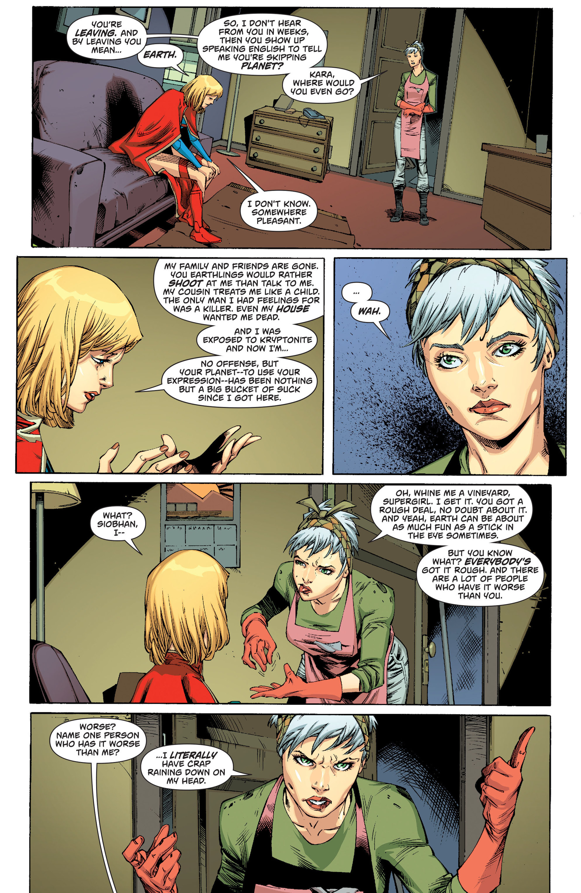 Supergirl (2011) Issue #21 #23 - English 5