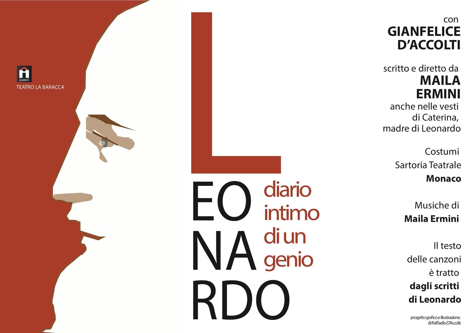 Leonardo, diario intimo di un genio