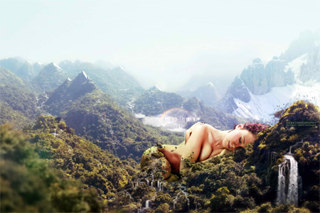 Nature Photo Manipulation: Lush