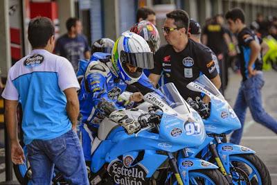 Associada à equipe tricampeã da GP 1000, a Estrella Galicia 0,0 by Alex Barros tem quatro pilotos na GPR 250
