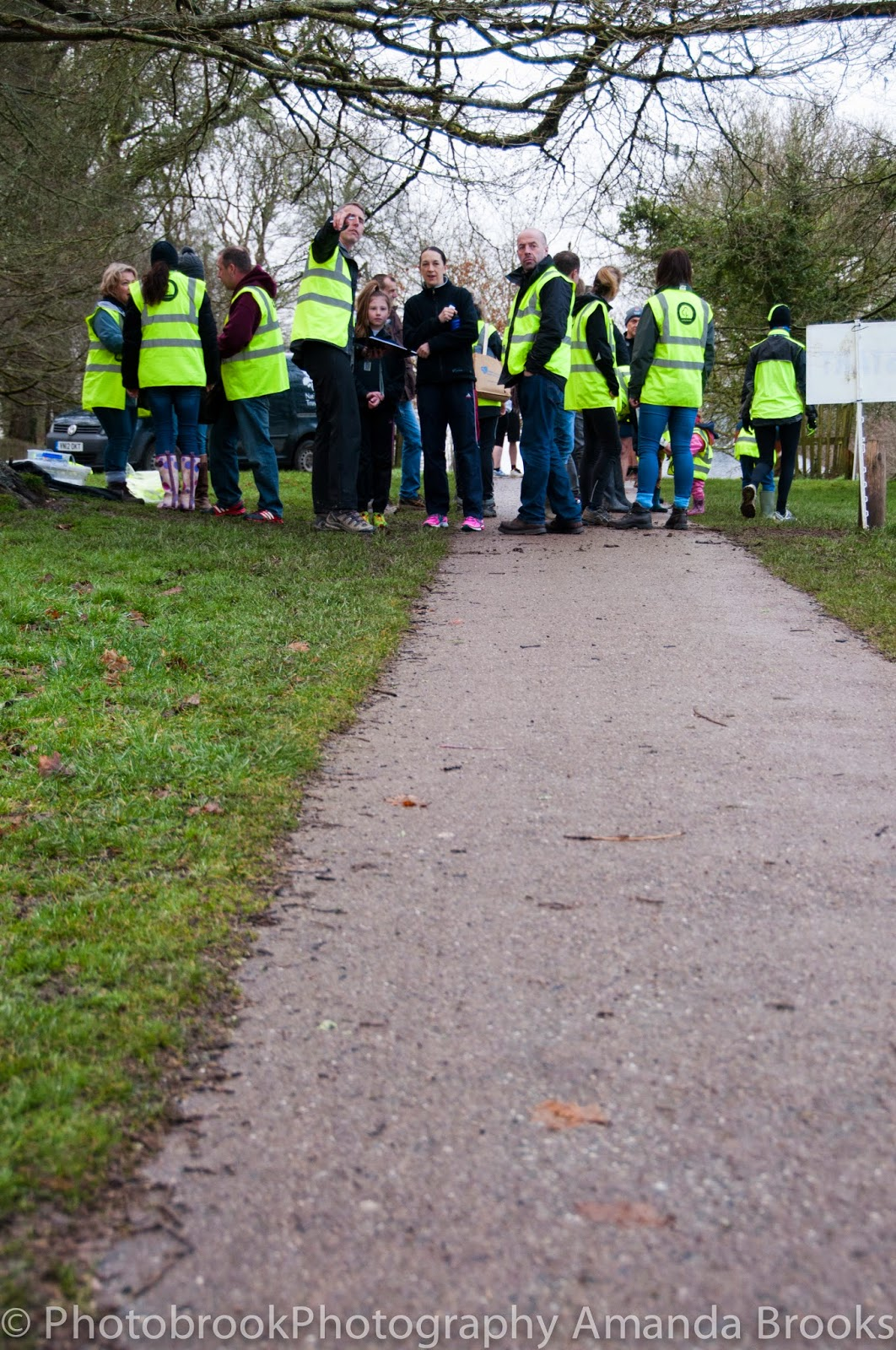 Volunteers at Lanhydrock Park Run
