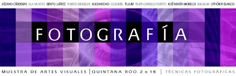 Muestra de Artes Visuales Quintana Roo 2016. Fotografía