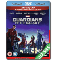 GUARDIANES DE LA GALAXIA (2014) FULL 3D SBS 1080P HD MKV ESPAÑOL LATINO