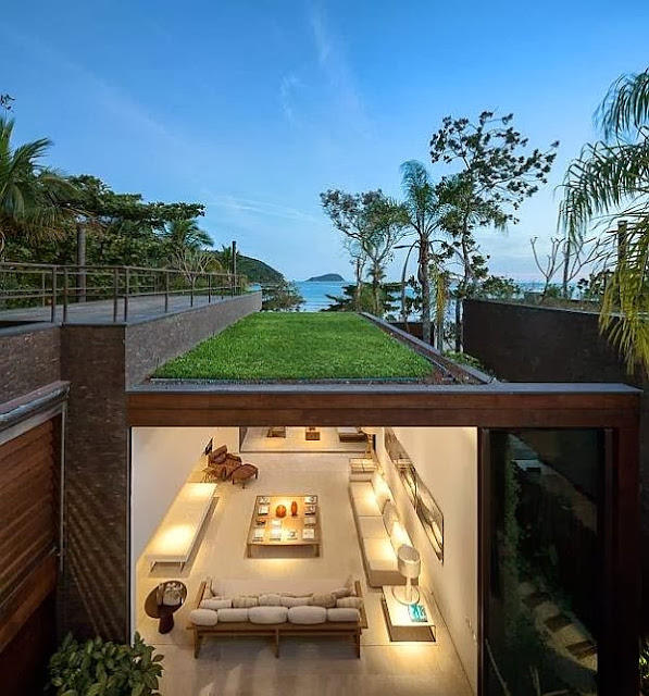 Rumah Minimalis Blends With Nature 4