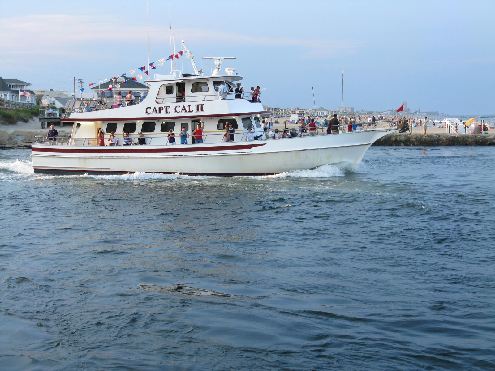 capt cal party boat belmar black fish report 12 7 12