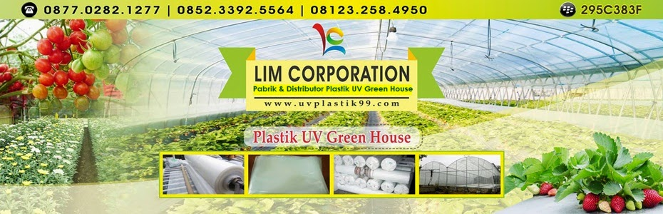 Jual Plastik UV (Ultra Violet) Untuk Greenhouse