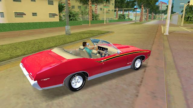 Pontiac GTO 1969 The Judge Convertible GTA Vice City