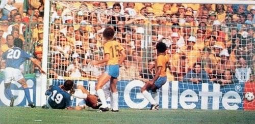 3° gol de Paolo Rossi e da Itália contra o Brasil copa do mundo de 1982