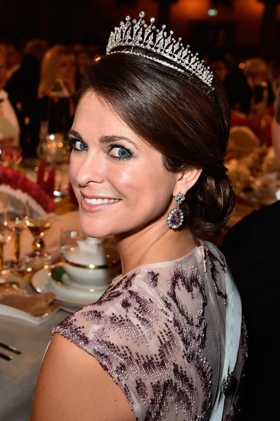 Princess Madeleine of Sweden attends the Nobel Prize Banquet 2014