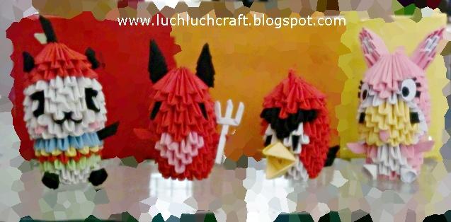 aneka 3d origami koleksi