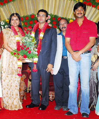 Singer Mahathi Wedding Reception images