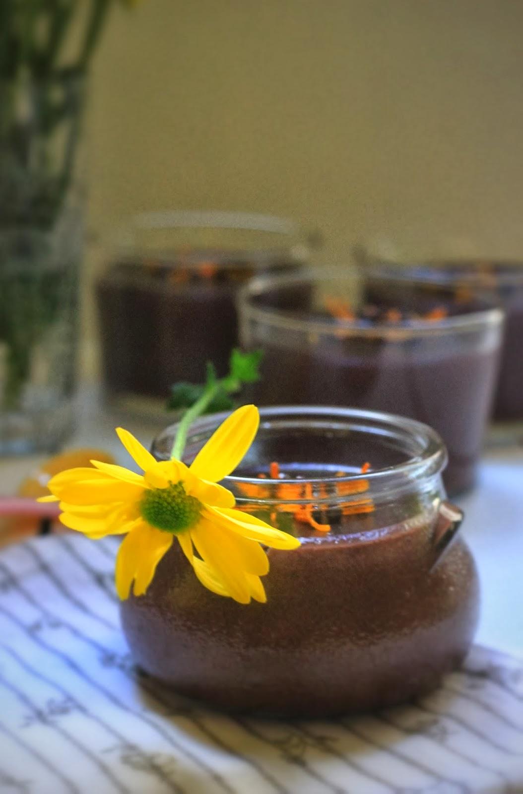 portakalli cikolatali puding 3